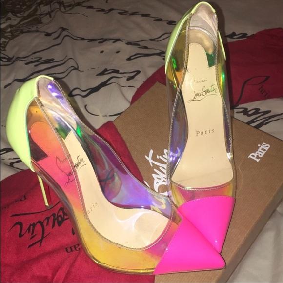 Christian Louboutin Shoes - Neon Yellow 7253a8139